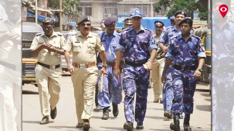 Mumbai Police conducts 'Route March' to ensure security of citizens