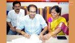 Uddhav visists Sena branches in Ghatkopar