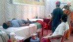 Shiv Sena organises blood donation camp