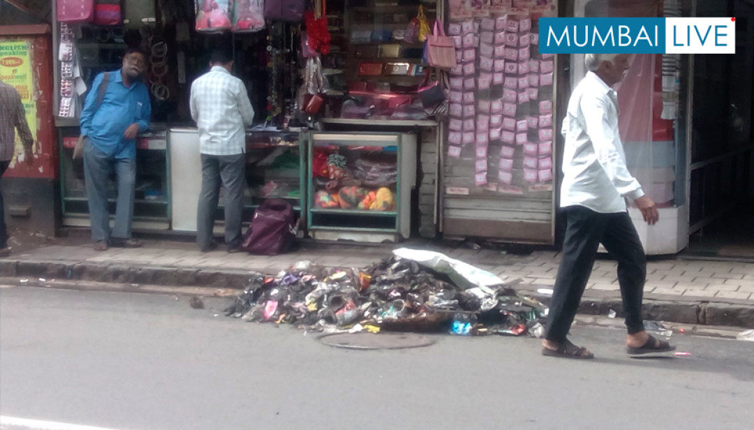 Girgaon's Mugbhat 'Garbage' Lane