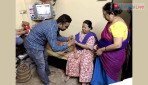 Shiv Sena distributes Jio sim at medical camp