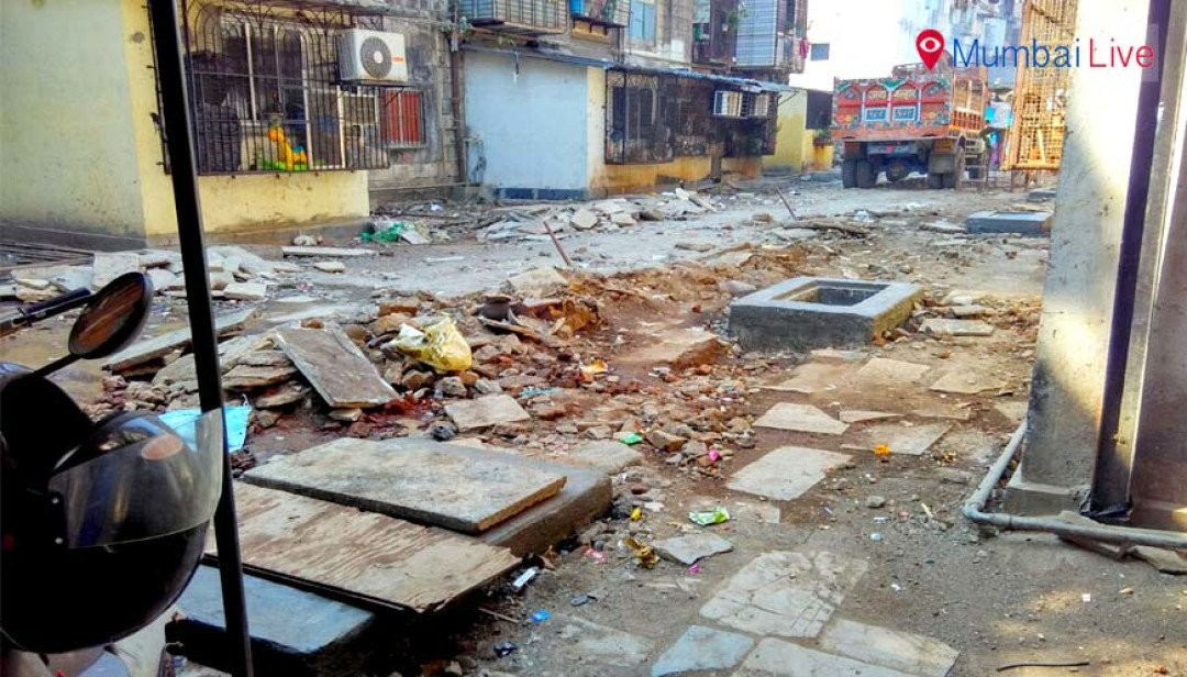 Worli chawls still mired in filth