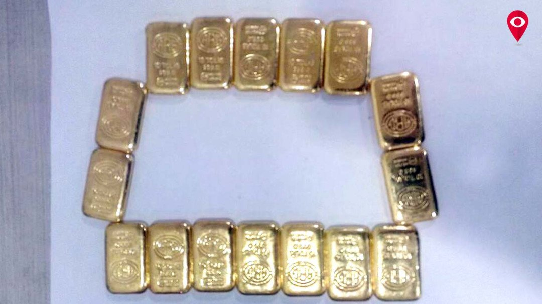 Smuggled gold dropped in dustbin; 3 arrested