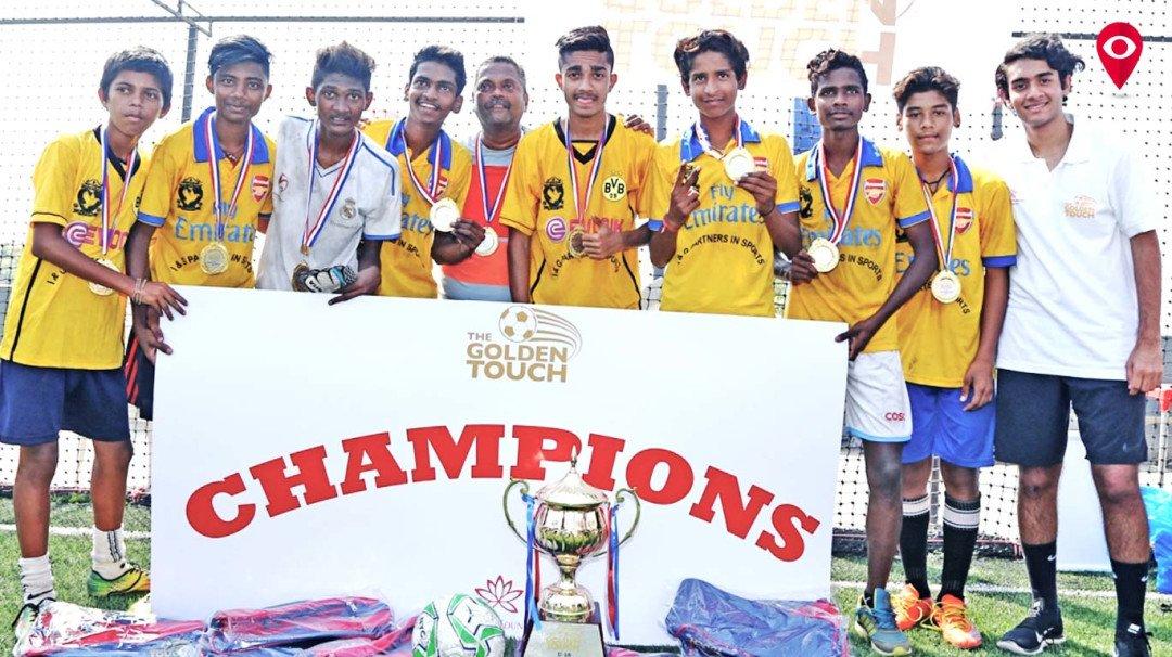 आयएनजी पार्टनर्स बना गोल्डन टच फुटबॉल विजेता