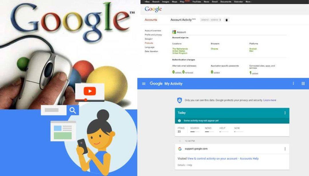 गुगल की ऍक्टिव्हिटी टूल ।