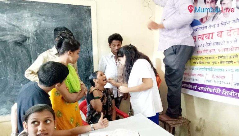 Good response to MNS' health check up camp
