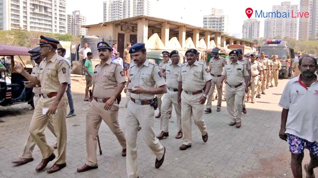Police gear up for The V-Day