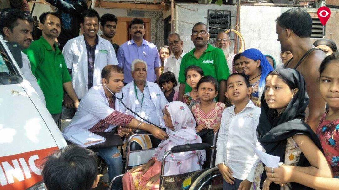 गोवंडी- मानखुर्द इलाके में मुफ्य आरोग्य सेवा