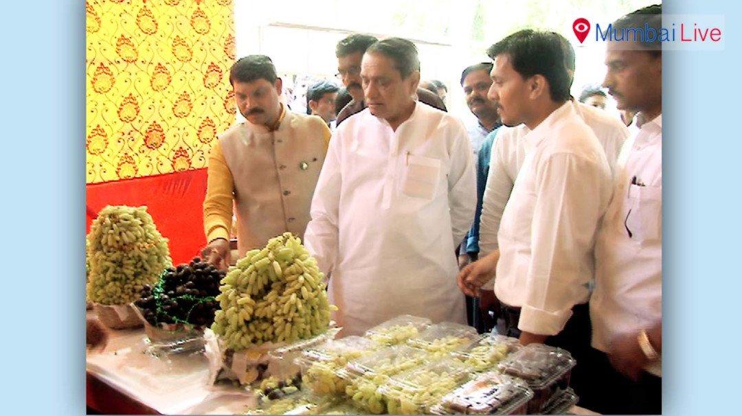 Nariman Point hosts festival to encourage grape farming