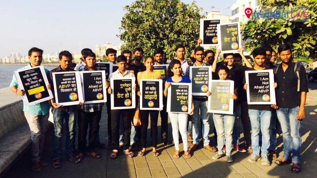 Chhatra Bharati supports Gurmehar Kaur