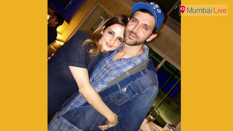 """Sussanne Khan savours Hrithik's act in """"Kaabil"""""""