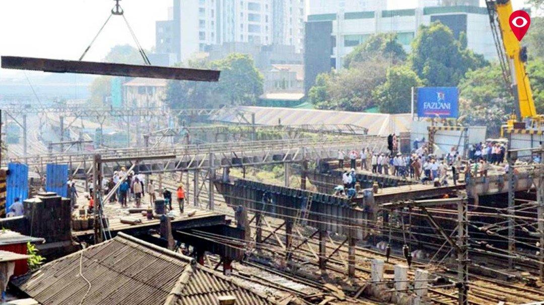 हैनकॉक ब्रिज की जगह पर  बनेगा एफओबी