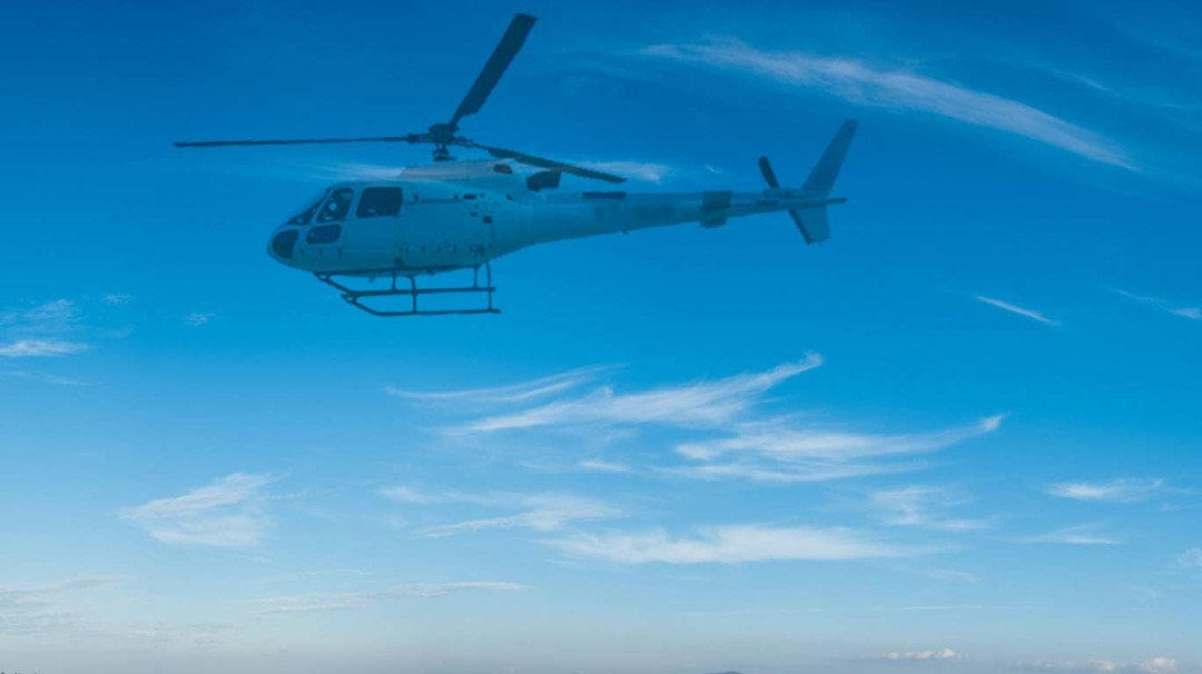 मुंबईहून निघालेलं हेलिकॉप्टर गायब
