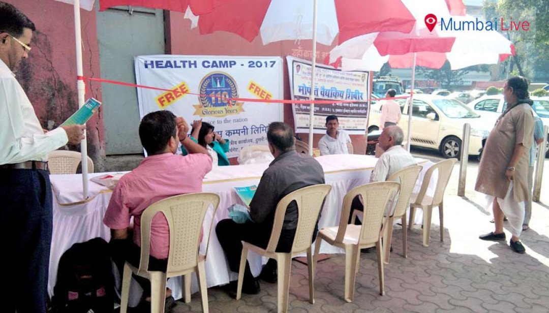 Health camp in Churchgate