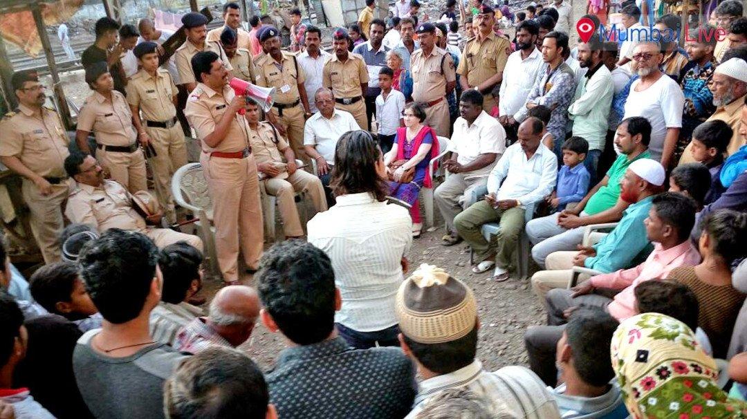 Wadala railway police hold awareness campaign