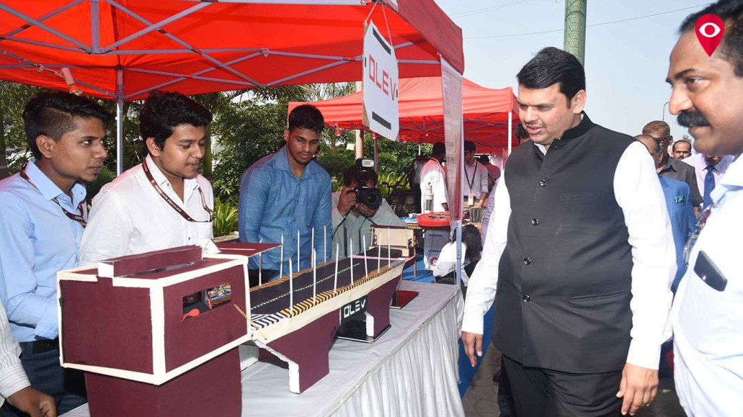 CM Fadnavis graces Transform Maharashtra event in Worli