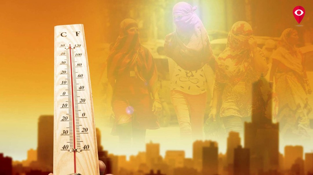 Scorching heat strikes Mumbai, temperature exceeds 34 degrees Celsius