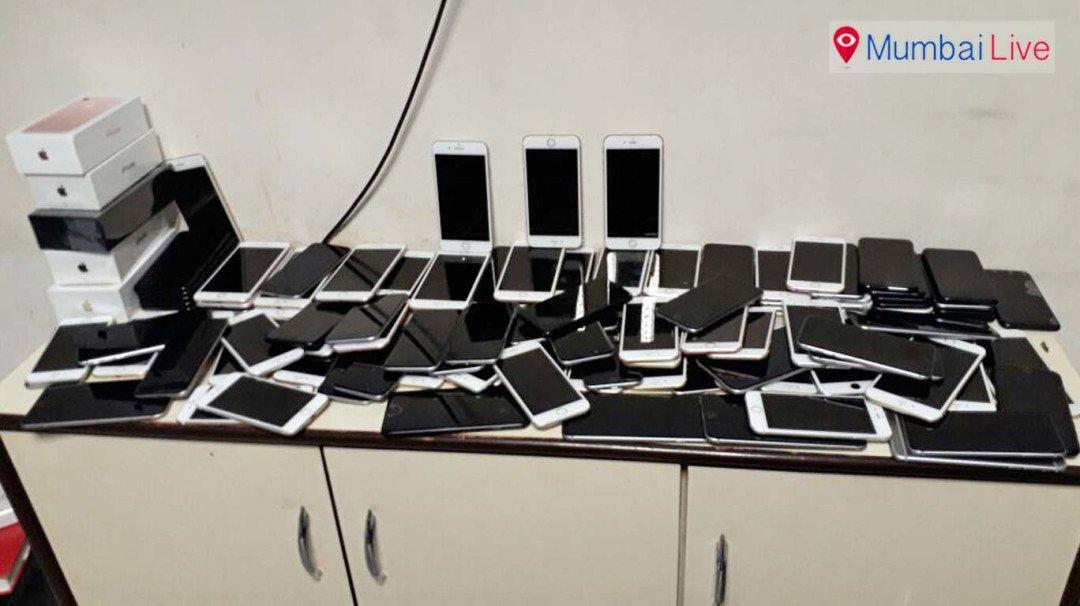 एकाच माणसाकडे सापडले 126 आयफोन!