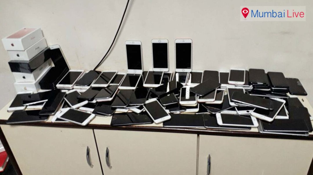 Man caught for smuggling in 121 iPhones