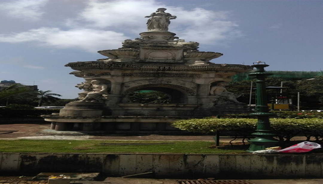 Renovation of Flora Fountain begins