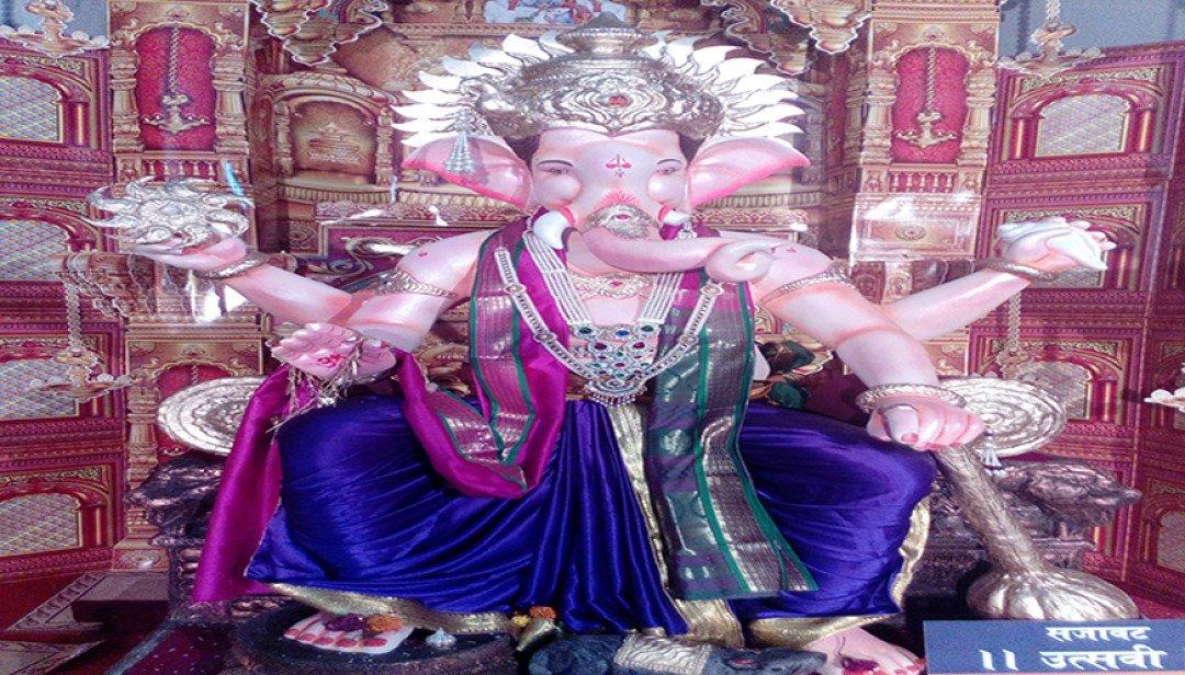 Goregaon's Paper Mache Bappa