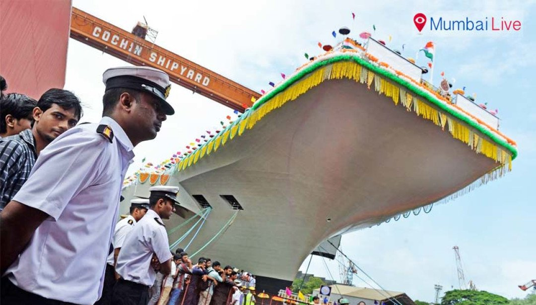 INS Vikrant in navy by 2018?