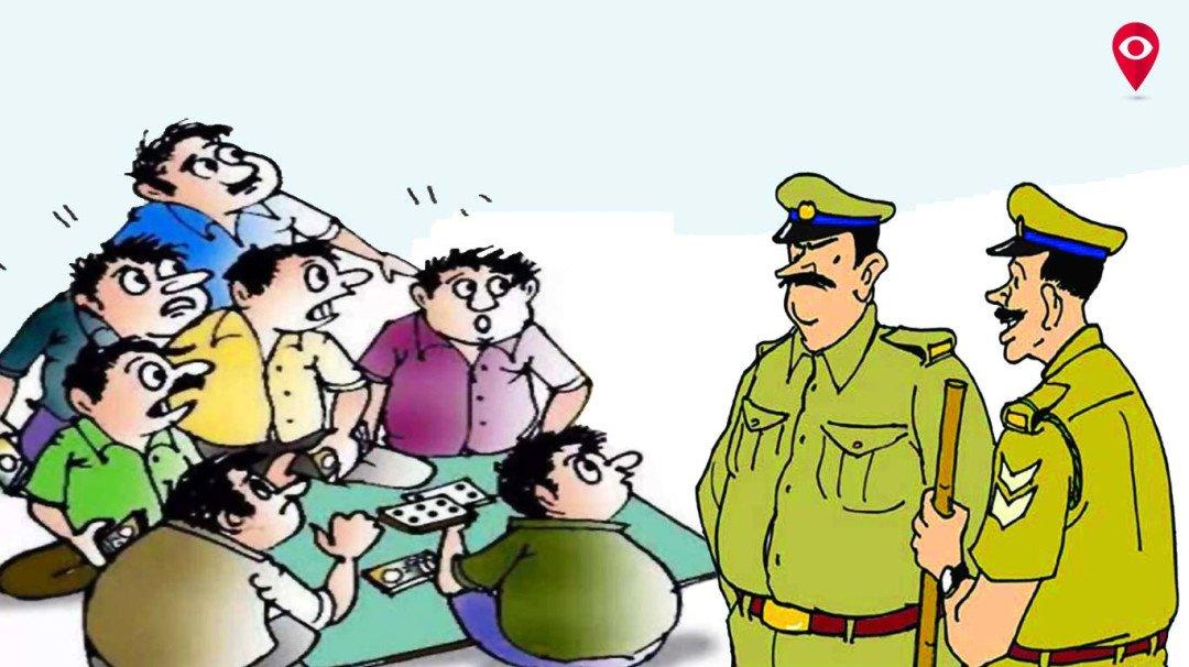 आईपीएल में सट्टा लगाते 10 सटोरी गिरफ्तार