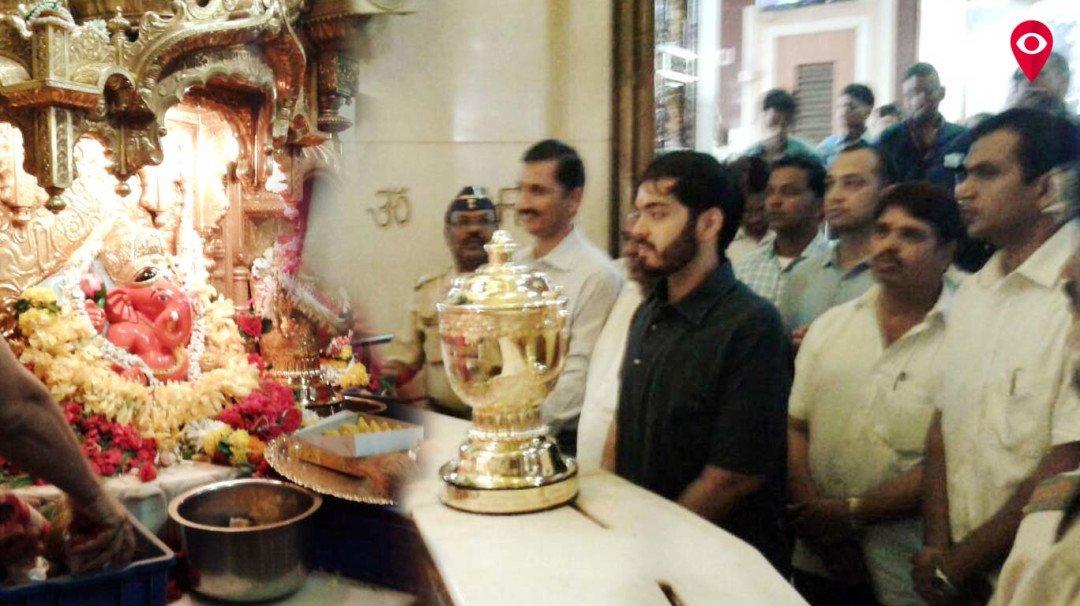 Anant Ambani visits Siddhivinayak Temple Post IPL victory