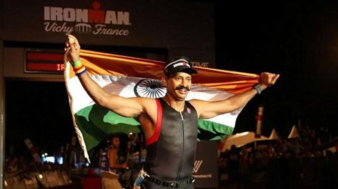 IPS officer Krishna Prakash becomes the first civil servant to win the 'Ironman triathlon'