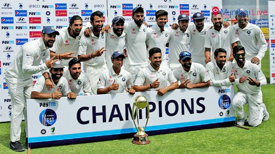 भारत ने जीता चौथा टेस्ट मैच, सीरीज पर किया कब्जा