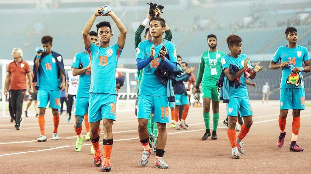 Ghana thump India 4-0 as the hosts crash out from the FIFA U-17 World Cup