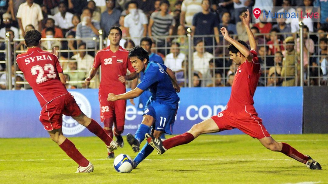 जीत के लिए तैयार भारतीय फुटबॉल टीम