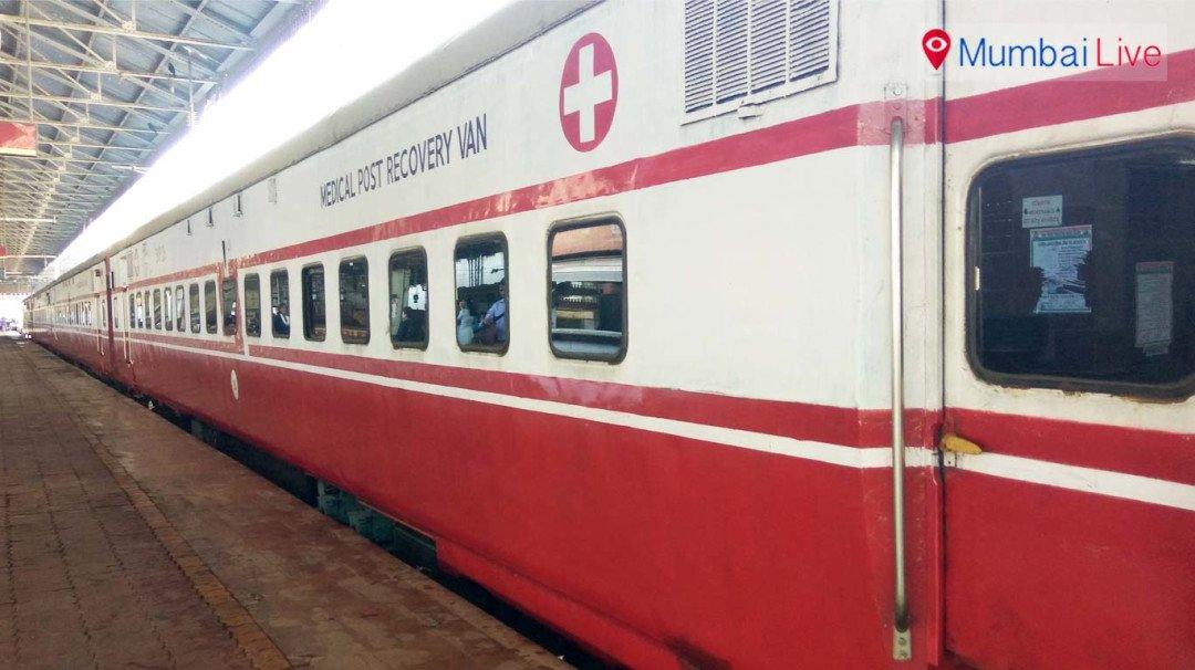 CR's 'rail ambulance' gets ready for organ transportation