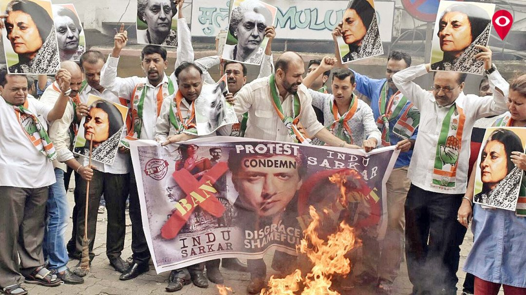 Congress to protest in cinemas even after 'Indu Sarkar' release