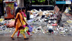 जे पी रोड पर कब साफ होगा कचरा ।