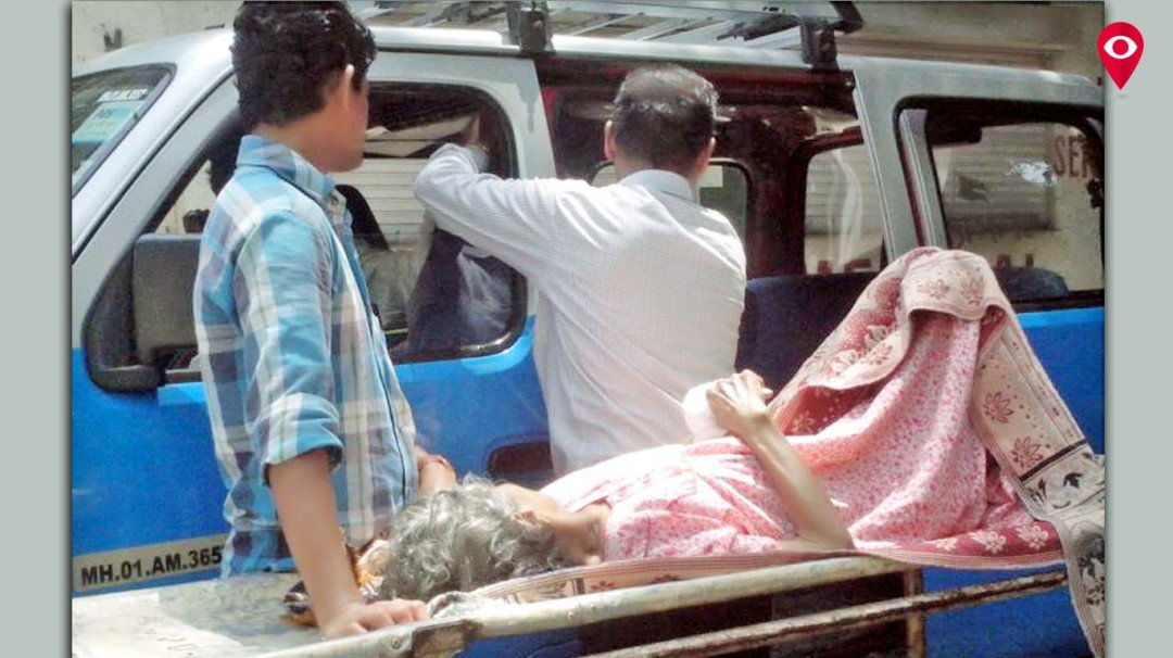 Patients' relatives are donning ward boys hat in JJ hospital