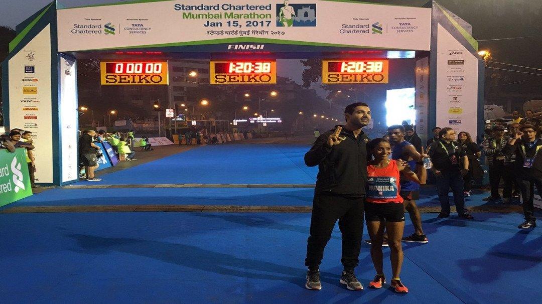 Mumbai on run... Mumbai Marathon