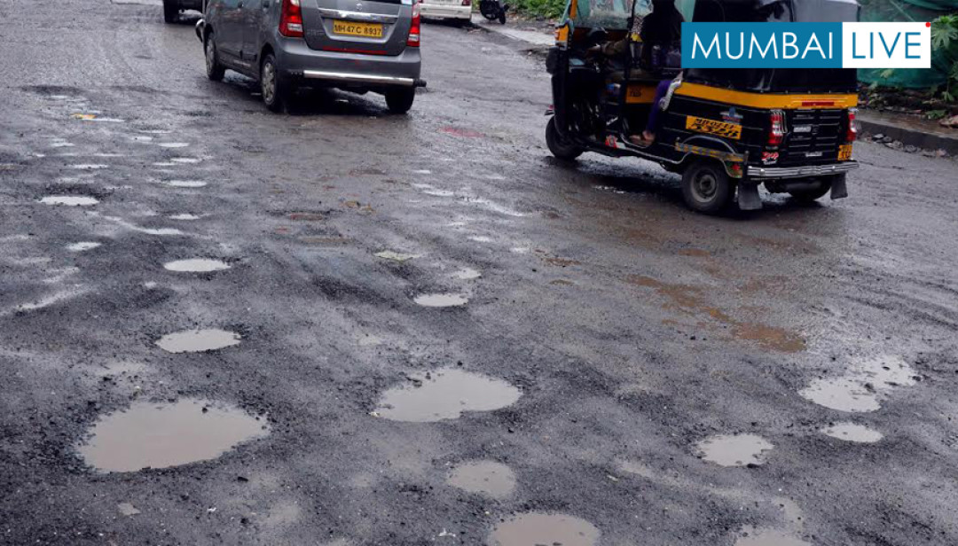 JVLR Riddled with Potholes