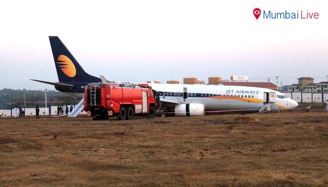 Narrow escape for Jet Airways passengers