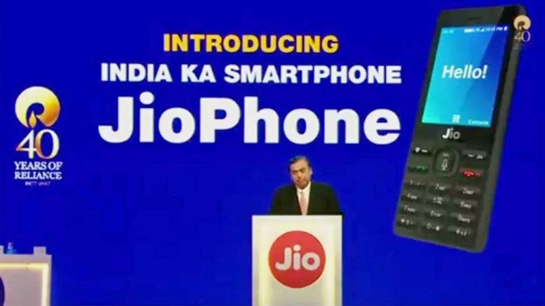Reliance Jio launches free of cost  'JioPhone'