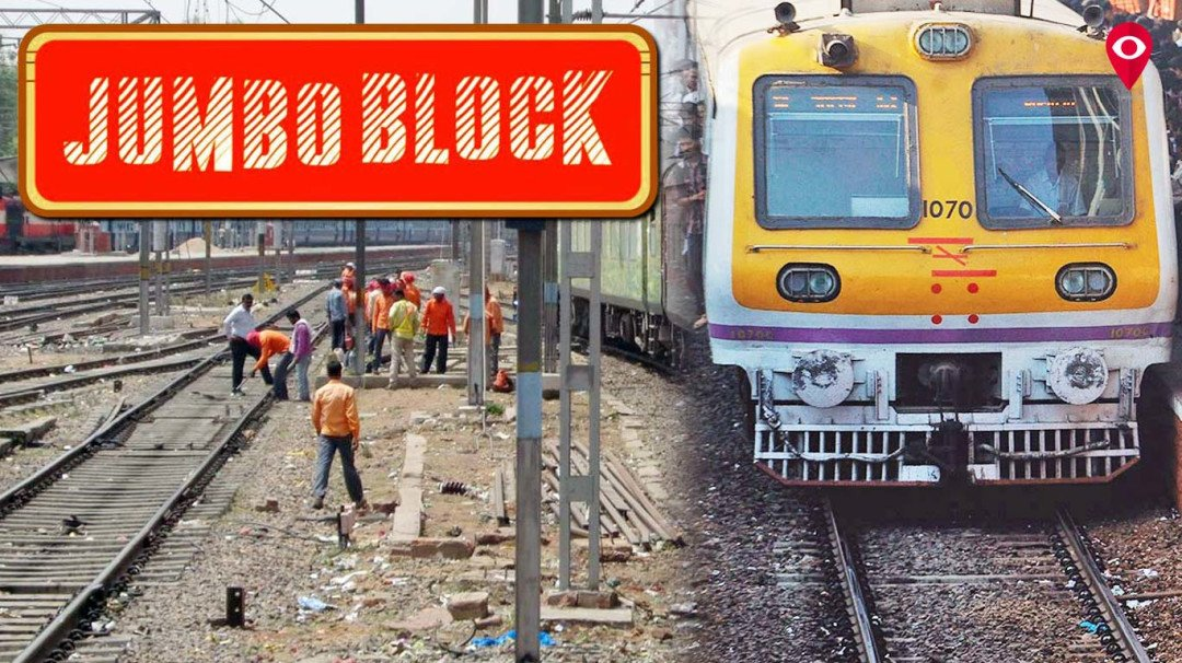 CR, WR to carry out mega block, jumbo block respectively