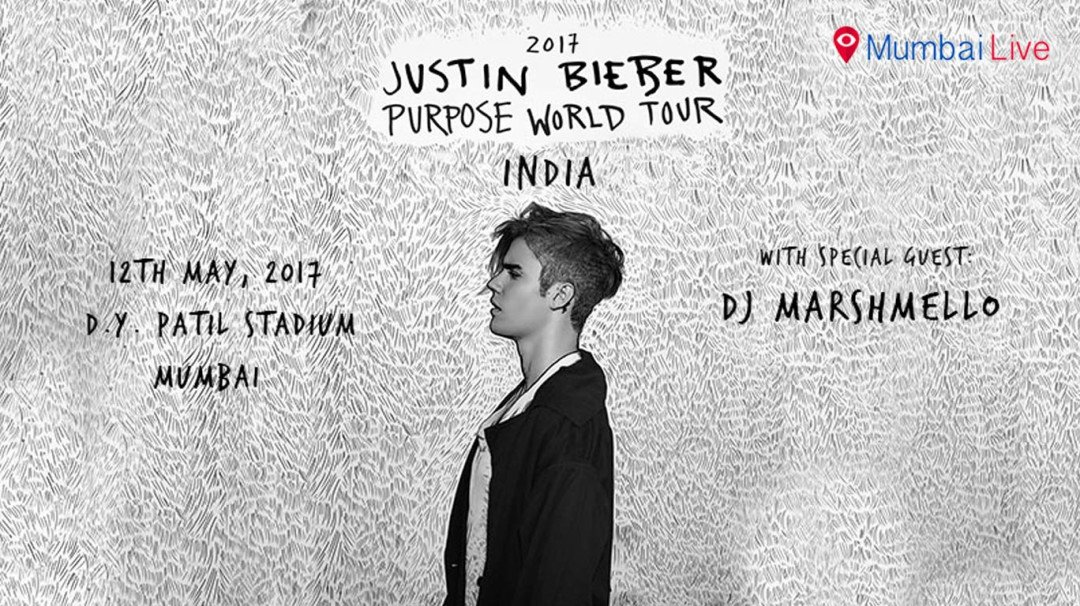 Here's what will happen at Justin Bieber's Mumbai concert