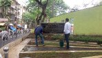 Chhatra Bharati's cleanliness campaign