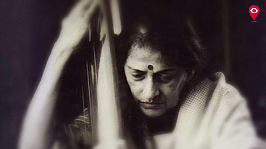 Singer Kishori Amonkar given tearful adieu