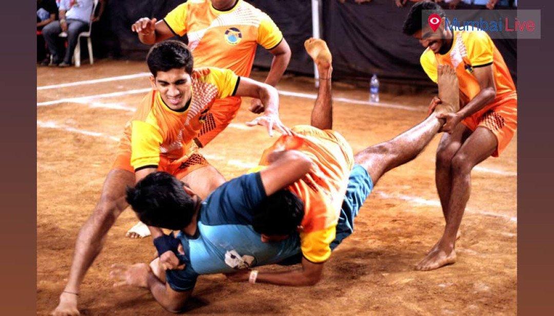 Jagruti Club wins kabaddi match