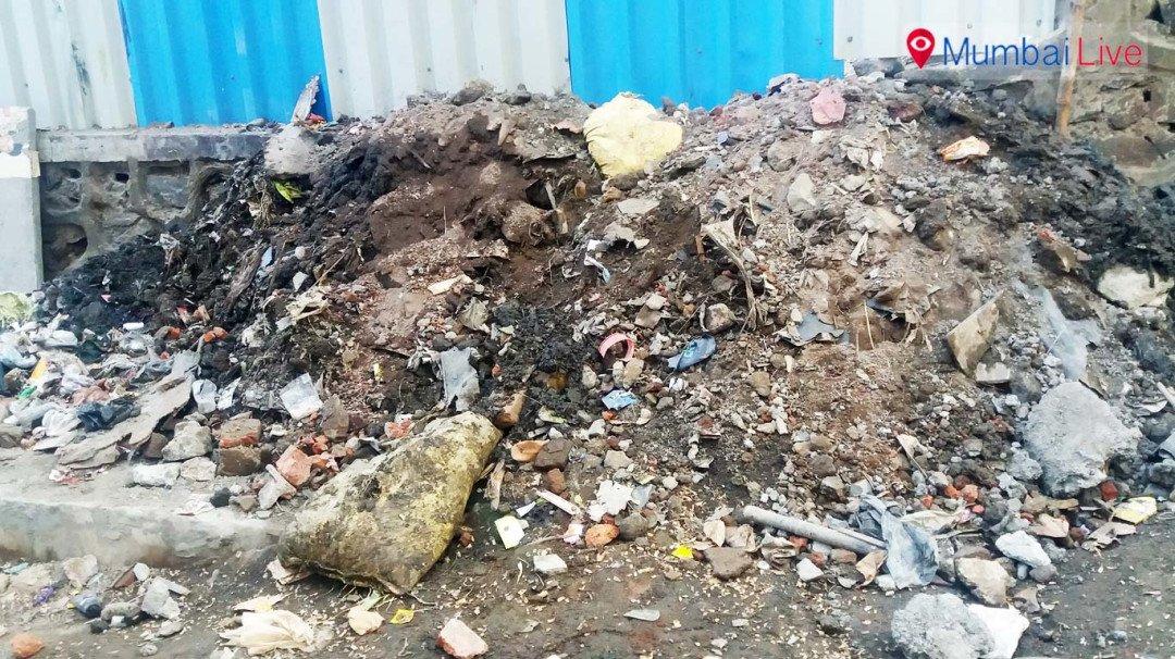 कचऱ्यामुळे दहिसरमधील नागरिक त्रस्त
