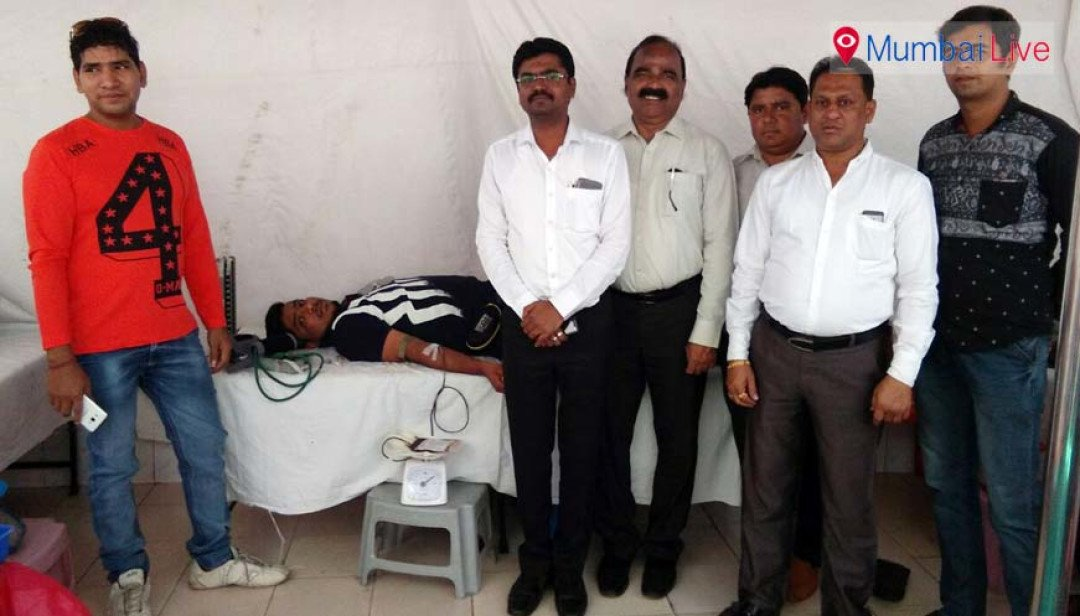 Blood donation drive at Kamathipura