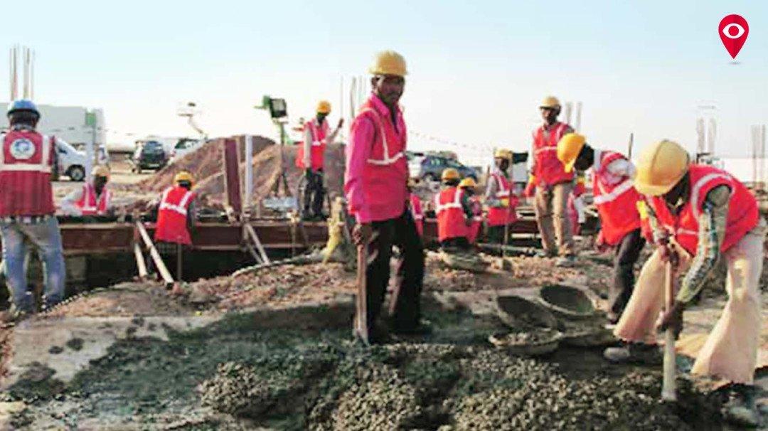 बांधकाम मजुरांचे 5074 कोटी सरकारी तिजोरीत धूळ खात पडले