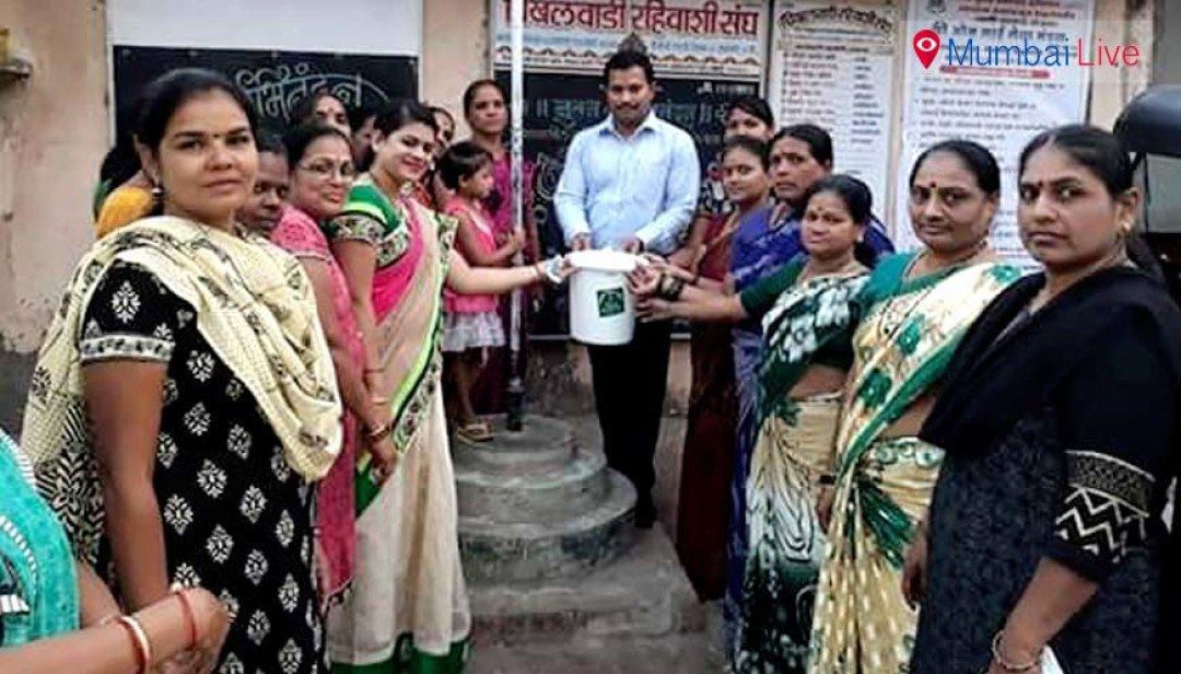 Dustbin distribution in Kandivali
