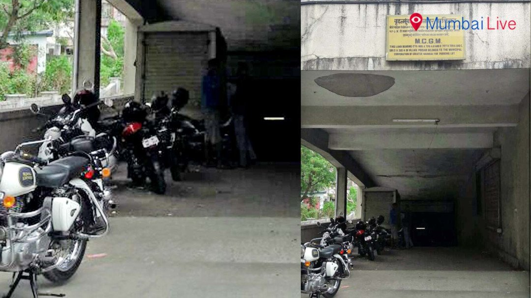 Parking space close in Kandivali
